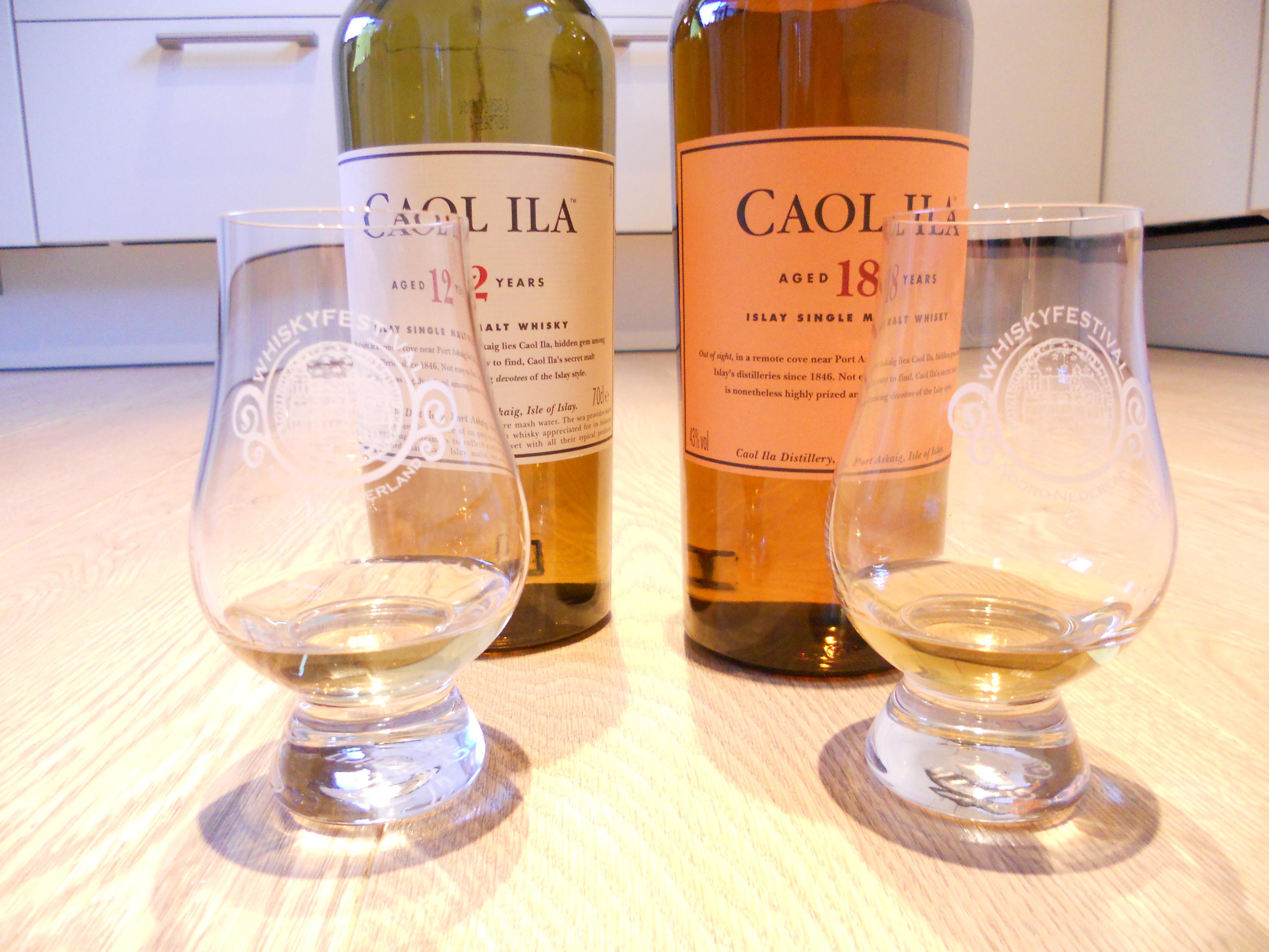 Caol Ila 12 and 18 y.o.