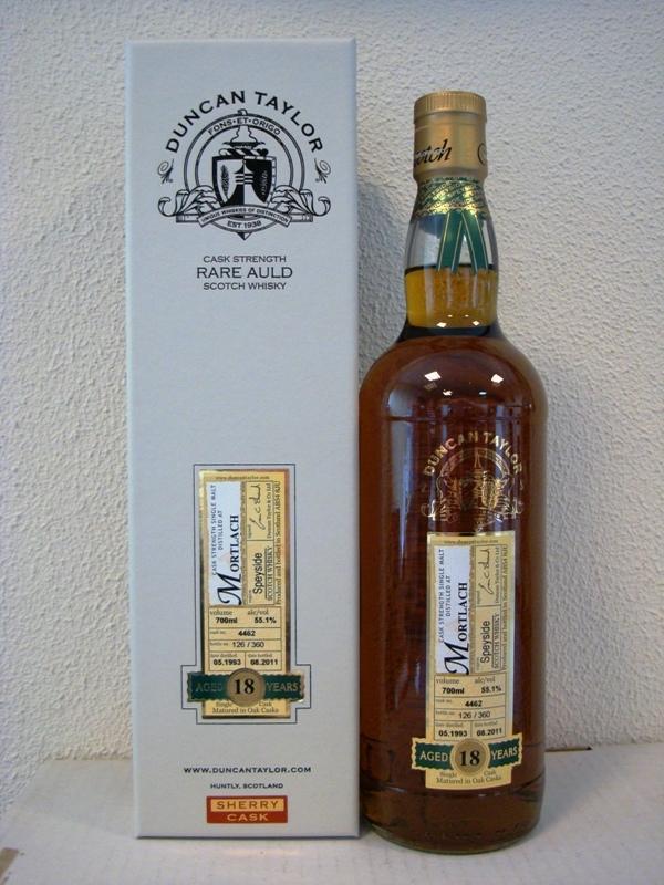 Duncan Taylor's Mortlach 18 y.o. 1993 Rare Auld
