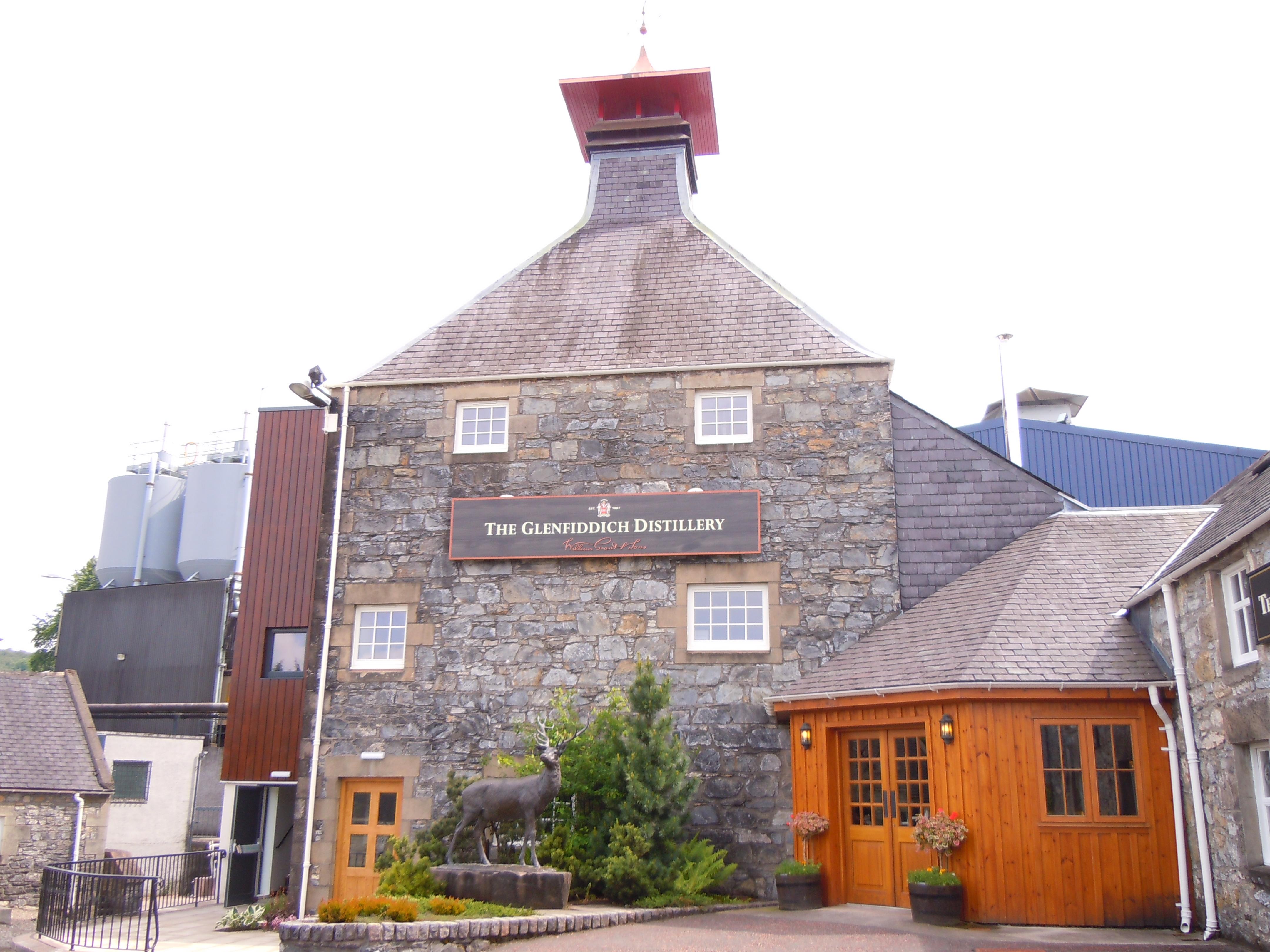 Glenfiddich Distillery en Pagode